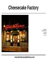 PowerPoint_Cheesecake Factory