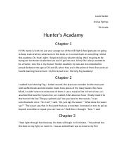 Hunter's Academy.rtf