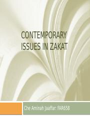 Contemporary Issues in Zakat.pptx
