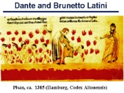 Dante and Brunetto Latini
