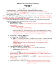 Study Guide 1