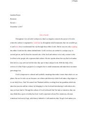 Jasmine Reyes - City of Gold Explanatory Essay.docx