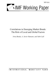 Correlations in Emerging Market Bonds The Role of Local and Global Factors