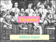 disabled wilfred owen.ppt