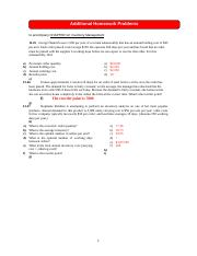 Chapter 12 Additional Problems