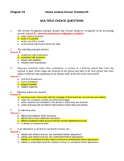 Ch 3  Questions 2012