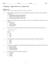 CCR Biology - Chapter 8 Practice Test - Summer 2012.pdf