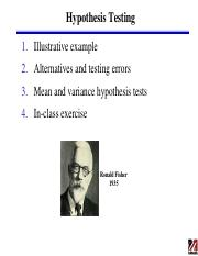 231_Lect. 6 (Feb. 4)_Hypothesis Testing