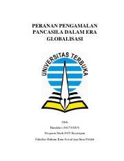 Pancasila Docx Bab I Pendahuluan 1 Latar Belakang Pancasila Sebagai Dasar Dan Ideologi Negara Merupakan Kesepakatan Politik Ketika Negara Indonesia Course Hero