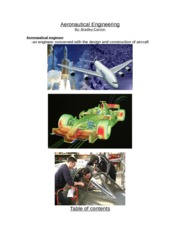 aeronautical engineering paper