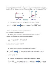 PHYS 121 ASSIGNMENT 13 SOLUTIONS