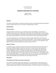 GEOS_234_Isotopic fractionation.docx