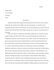 Essay on Art as History