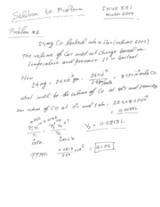 midterm Solution W2009