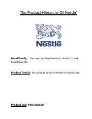 theproducthierarchyofnestle-120404080444-phpapp02.docx