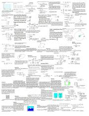 Phy Quiz 3 CHEAT SHEET!