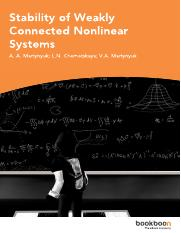 Stability of Weakly Connected Nonlinear Systems.pdf