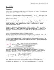 MBE2101_Heat_Transfer_Assignment_1_Solution