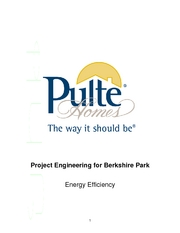 Project Engineering for Berkshire Park