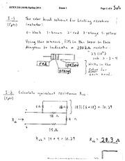 ecen 215 homework solutions