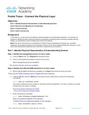 4.7.1 Packet Tracer - Connect the Physical Layer.pdf