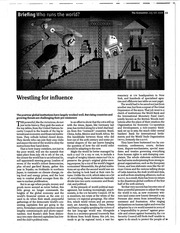2008 Economist Wrestling for Influence