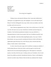 Cause and Effect- Essay