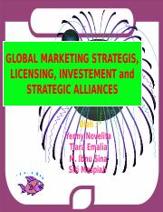 global-marketing-strategis-licensing-investement-and