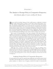 Analysis of foreign policyin comparative perspective.pdf