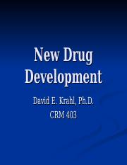 Psychopharmacology and New Drug Development.ppt