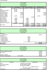 Accounting Application for Excel