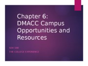 Campus Opportunities & Resources
