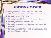 5.Essentials of Planning lecture16