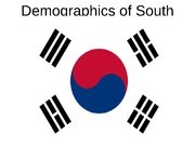 Demogtaphics of south korea