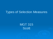 6.Types_of_Selection_Measures