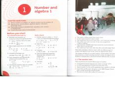 Ch. 1 - Number and Algebra 1