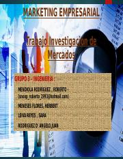 INVESTIGACION DE MERCADOS - MARKETING-2018.pptx