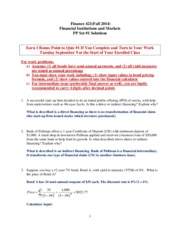FIN421_Fall2014_PP_Set_1_Solutions