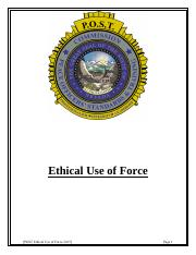 Ethical Use of Force Course.pdf