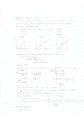 Rieman Sums and U substitution notes