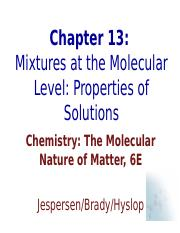 CH13_Mixtures_At_The_Molecular_Level.ppt