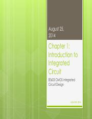 Chp1 Introduction to Integrated Circuit