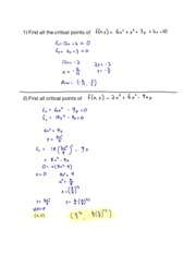Hw18 14.7 Maximum and Minimum Values