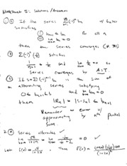 worksheet solutions 5