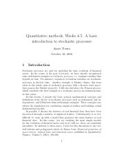 4-5.A basic introduction to stochastic processes