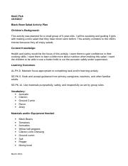 Pick Cooking Activity Plan and Rubric LATE (1).doc