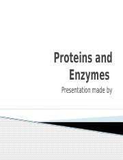 Biology Presentation Proteins and enzymes.pptx