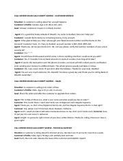 call center script sample pdf