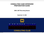 Michigan Case book 2006