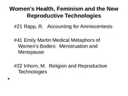 Women's Gender and Health (1)